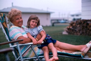 Carolyn and her grandmother Dorothy Kirchgraber