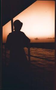 Dorothy ship sunset