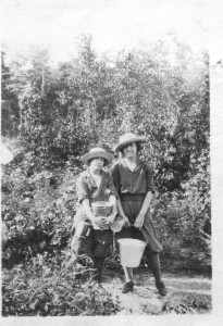 At Aunt Elsie Fisher's, Sprucedale, Ontario circa 1925